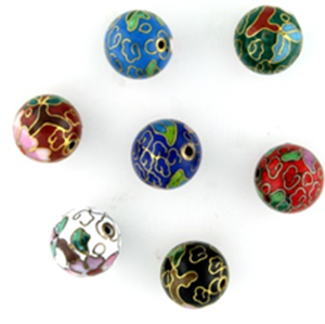 Cloisonne Beads for sale at Crystal findings