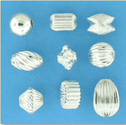 Buy Sterling Silver Beads and Findings online at Crystal Findings