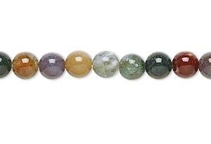 "9162 - 10mm Fancy Jasper Stone Beads - 16"" Strand"