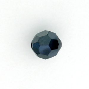 5000 - 14mm Swarovski Round Crystal - Jet Hematite