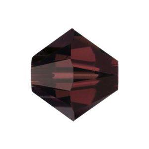 5301/5328 - 4mm Swarovski Crystal Bicone - Burgundy
