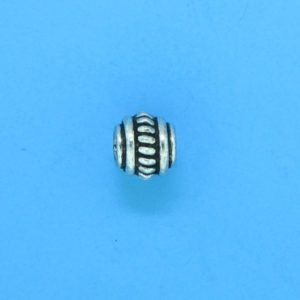 15002 - Bali Silver Spacer Bead 6x5mm