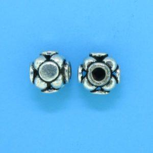 15019 - Bali Silver Bead 6x7mm