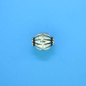 15044 - Bali Silver Bead 11x10mm