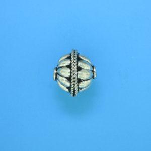15060 - Bali Silver Bead 12x13.5mm