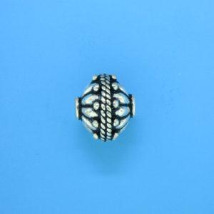 15061 - Bali Silver Bead 12.5x13.5mm