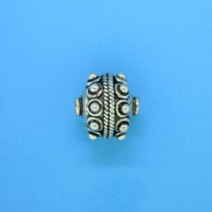 15062 - Bali Silver Bead 13x13mm
