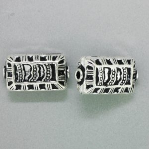 15070 - Bali Silver  Bead 20x10x7mm