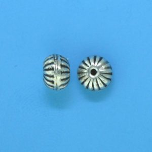15083 - Bali Silver Bead 7.5x8mm