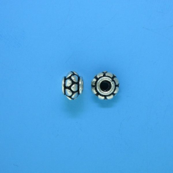 15085 - Bali Silver Spacer Bead 7x5mm
