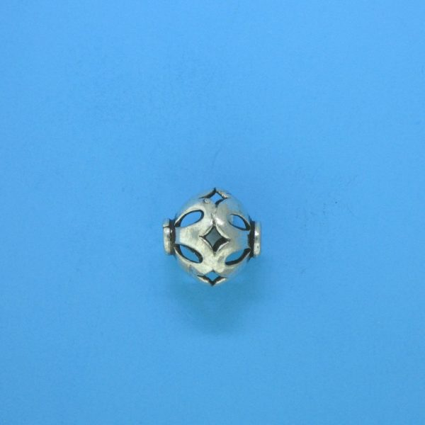 15093 - Bali Silver Bead 10x9.5mm