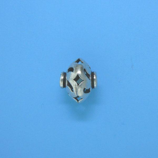 15102 - Bali Silver Bead 12x10mm