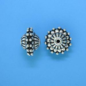 15103 - Bali Silver Bead 12x10mm