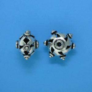 15105 - Bali Silver Bead 10.5x15mm