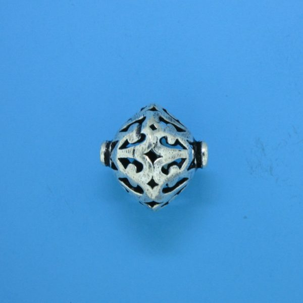 15111 - Bali Silver Bead 17.5x16mm