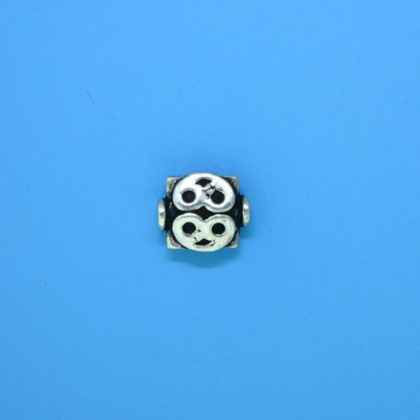 15114 - Bali Silver Bead 8.5x8mm