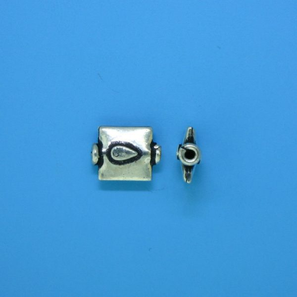 15115 - Bali Silver Bead 10x8mm