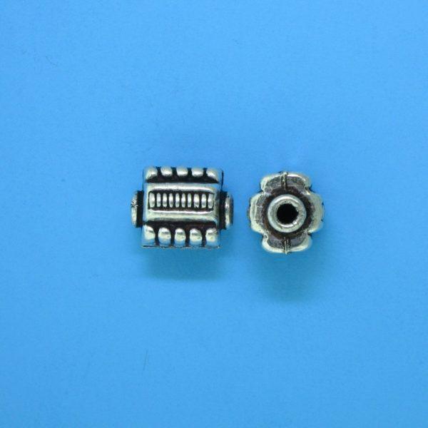 15120 - Bali Silver Bead 9x8x7mm