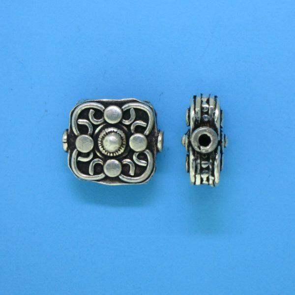 15124 - Bali Silver Bead 15x13mm