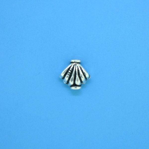 15136 - Bali Silver Bead 8x7.5mm