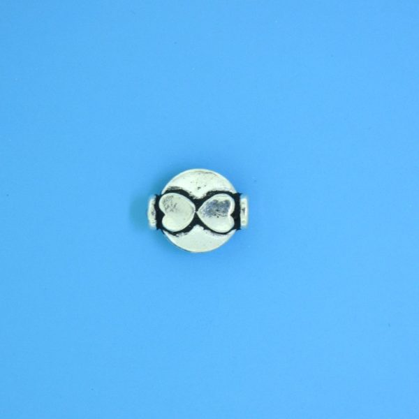 15142 - Bali Silver  Bead 10x8mm