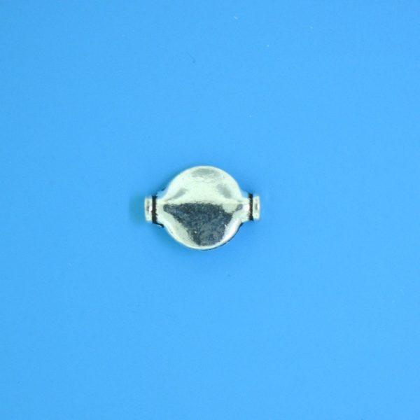15143 - Bali Silver Bead 11x8mm