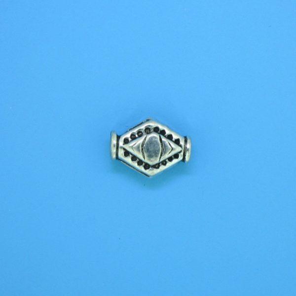 15147 - Bali Silver Bead 11x8mm