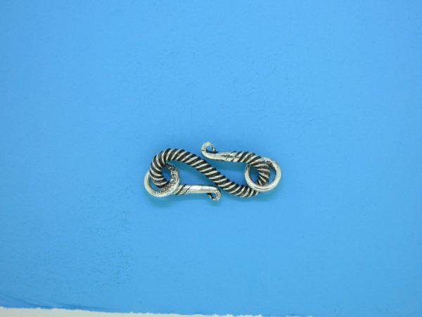 15605 - Bali Silver Clasp 25x7mm