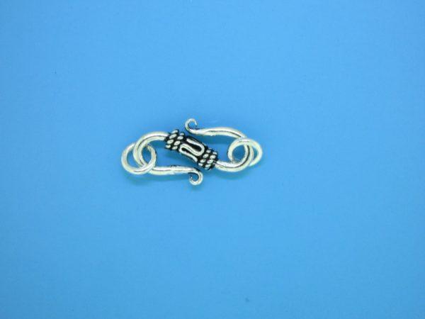 15611 - Bali Silver Clasp 23x7mm