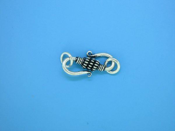 15615 - Bali Silver Clasp 27x8mm