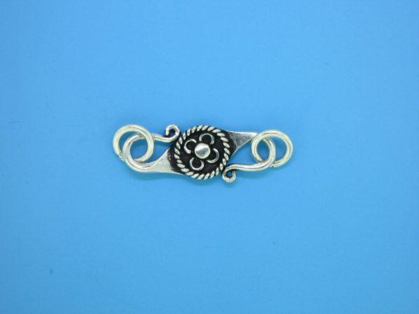 15618 - Bali Silver Clasp 31x8mm