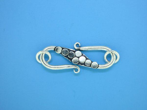 15624 - Bali Silver Clasp 41x10mm