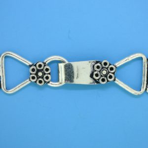 15631 - Bali Silver Clasp 57x14mm