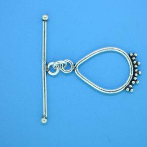 15639 - Bali Silver Clasp