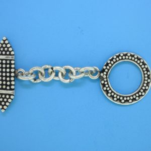 15455 - Bali Silver Clasp