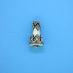 15473 - Bali Silver Tear Drop 17x10mm