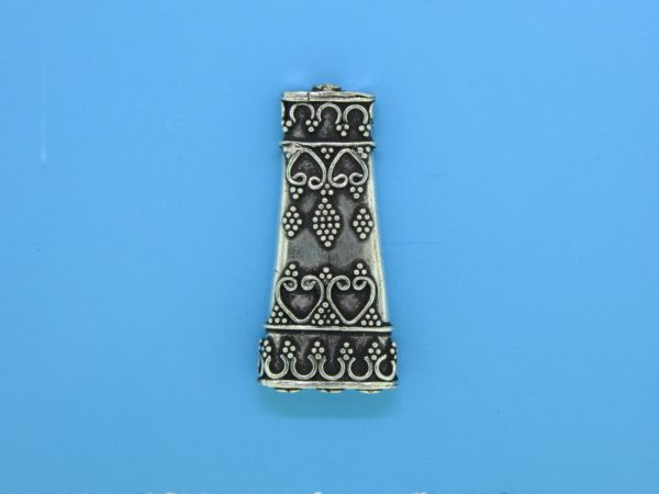 15484 - Bali Silver 3 to 1 Connector 38x18mm