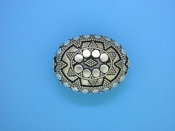 15486 - Bali Silver Pendant  28x22mm