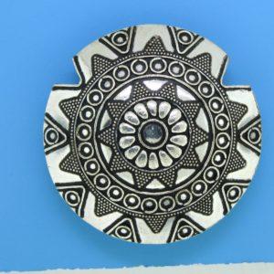 15491 - Bali Silver Pendant  48x16mm