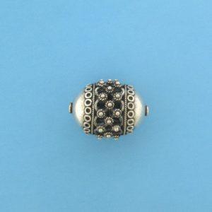 15493 - Bali Silver Pendant  33x26mm