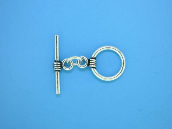 15644 - Bali Silver Toggle Clasp