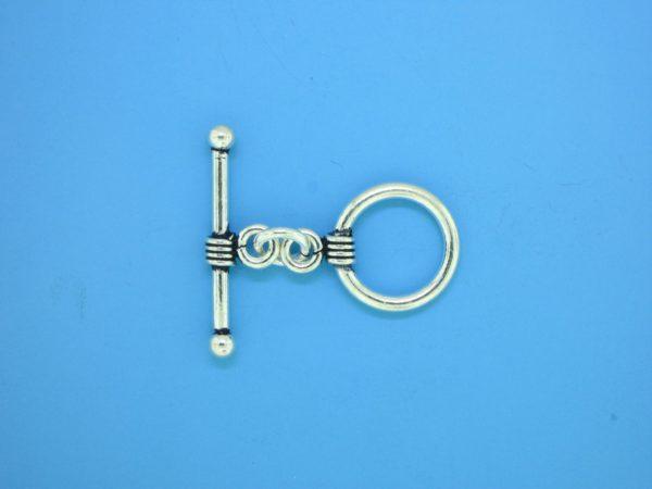 15645 - Bali Silver Toggle Clasp