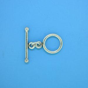 15646 - Bali Silver Toggle Clasp