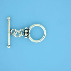 15649 - Bali Silver Toggle Clasp