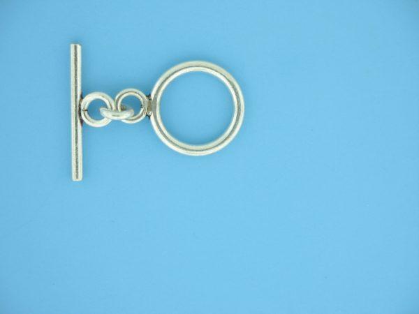 15650 - Bali Silver Toggle Clasp