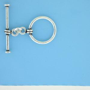 15652 - Bali Silver Toggle Clasp