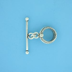 15655 - Bali Silver Toggle Clasp