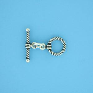 15656 - Bali Silver Toggle Clasp