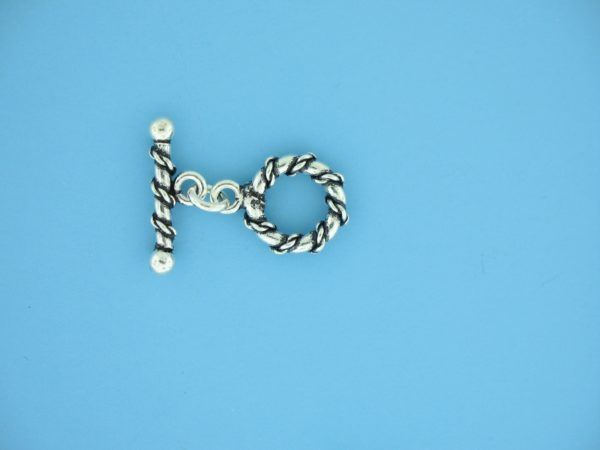 15659 - Bali Silver Toggle Clasp