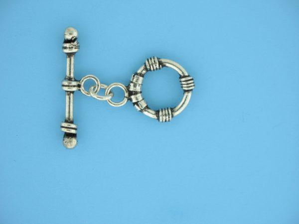 15665 - Bali Silver Toggle Clasp